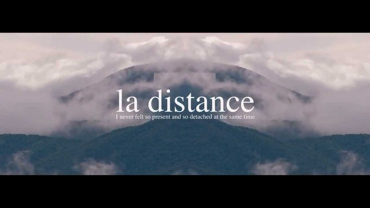 Lqd Hrmny - La Distance The visuals are a little offsetting, but the sound is healing the aching soul or whatever.