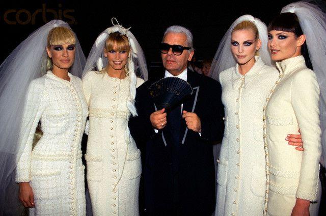 Chanel Haute Couture 1995
