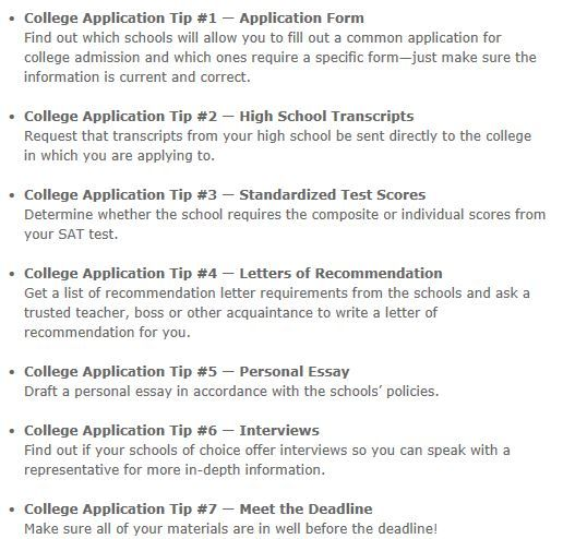 Best Job College Application Project Images On