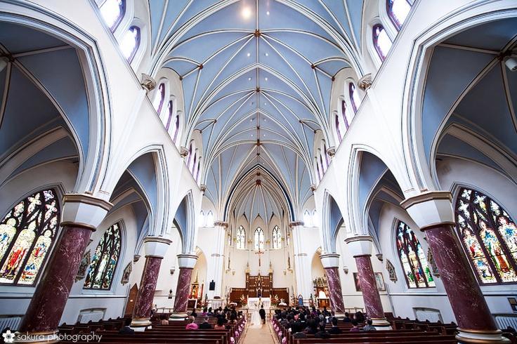 Sakura Photography...holy rosary cathedral wedding