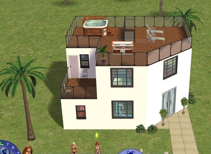 les 100 meilleures images du tableau maison sims 4 sur pinterest architecture petites maisons. Black Bedroom Furniture Sets. Home Design Ideas