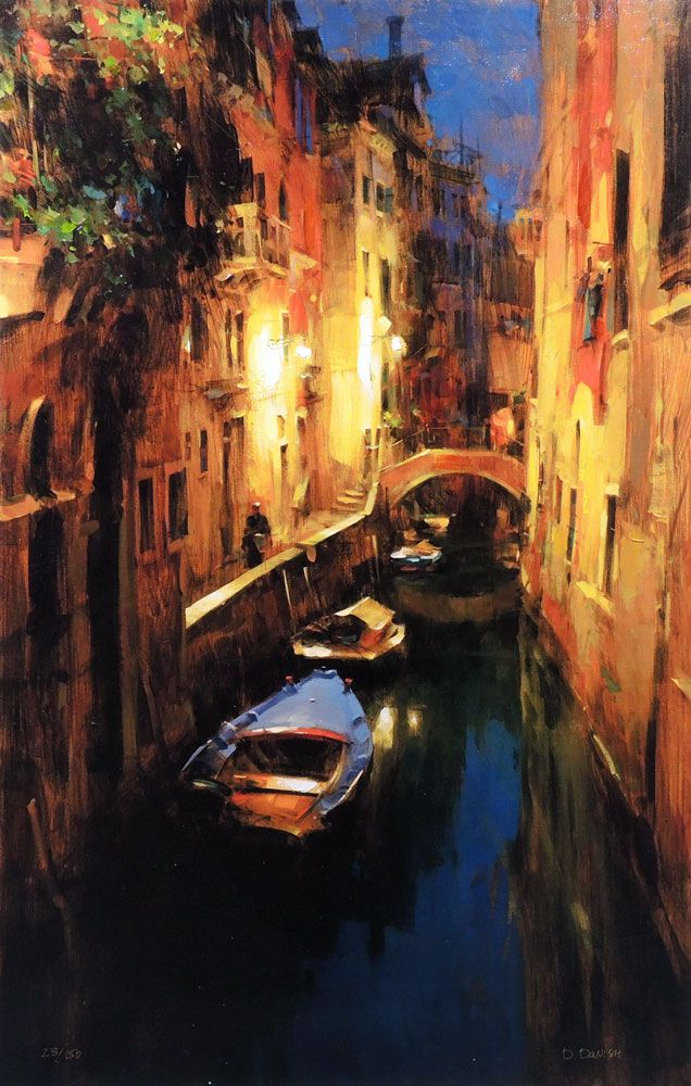 Dmitri Danish Evening on the Canal. For more information about the Danish collection, please visit our website siennafineart.com or call 305.600.4484