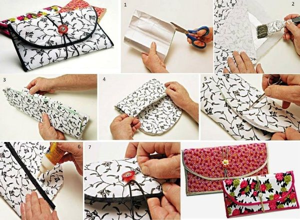 Be creative and make your own wallet find fun art for Fun arts and crafts to do at home