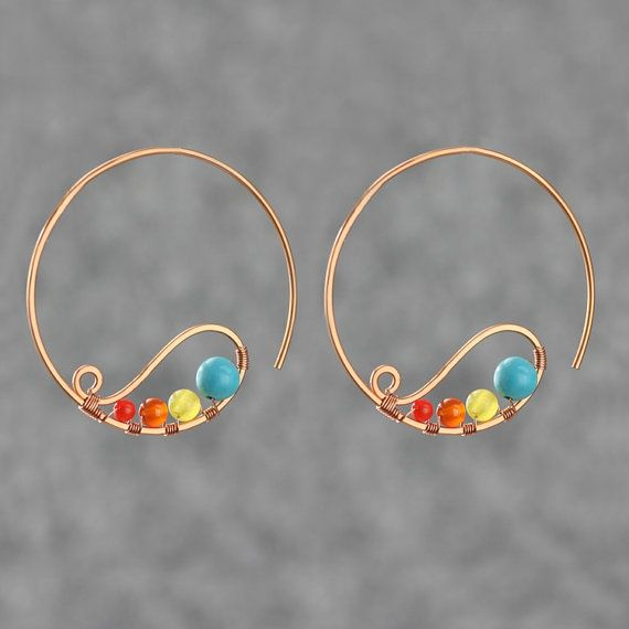 121 best Hoop-la images on Pinterest   Jewelry ideas, Wire and Jewelry