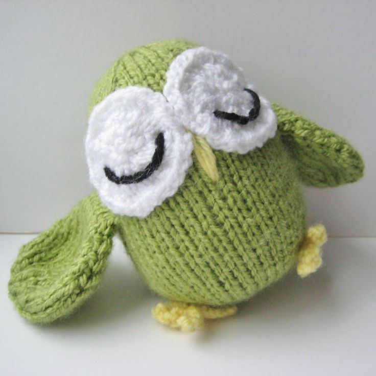 Disney Knitting Patterns Free : Allsorts Owl, toy knitting pattern Threadsy Pinterest Toys, Knitting pa...
