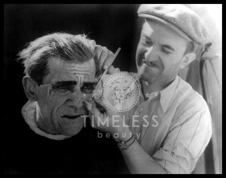 Jack Pierce MakeUp di #EffettiSpeciali - #TimelessBeauty #Storia del #Makeup