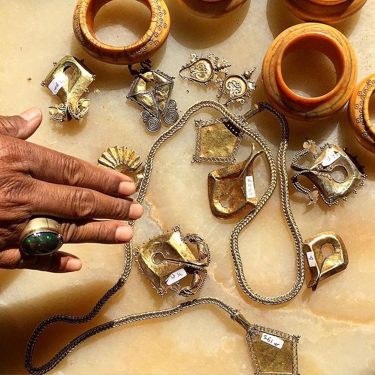 Royal jewelry. Gold. Sumba 19th century