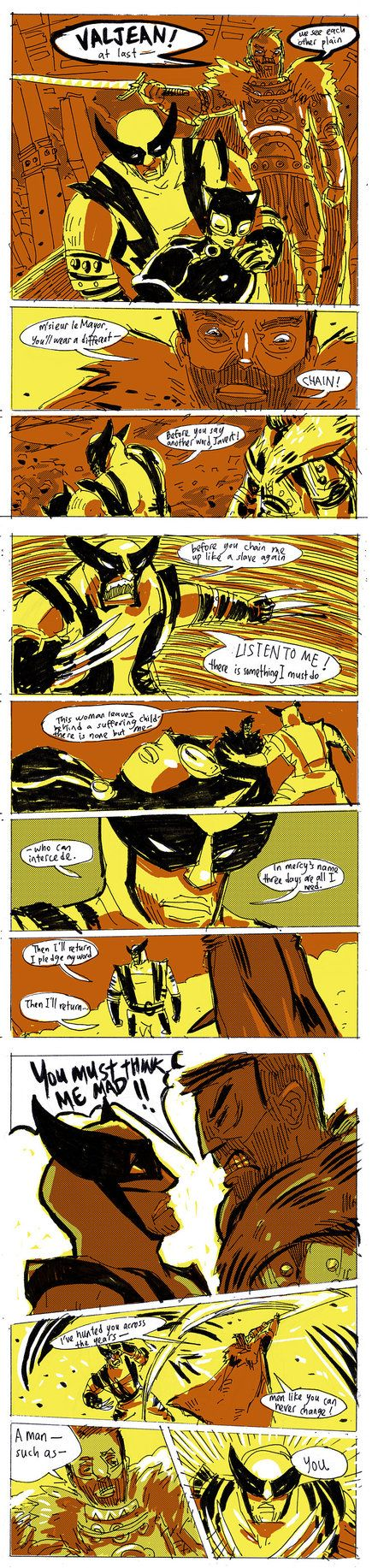 Les Mis Wolverine by ~zhaomeng on deviantART