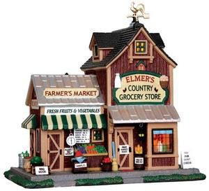 35525 - Elmer's Country Store  - Lemax Harvest Crossing Christmas Houses & Buildings