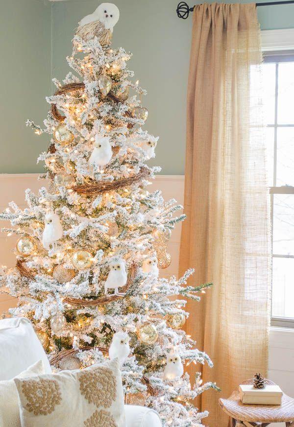 14 best Owl Themed Christmas Tree images on Pinterest  Owl