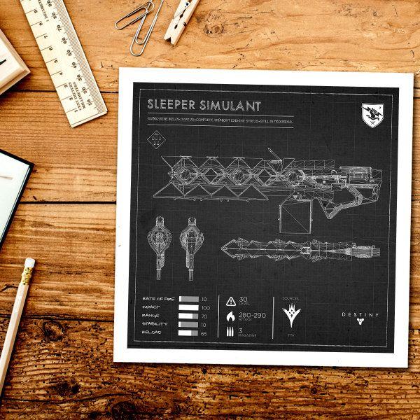 Black sleeper simulant blueprint destiny exotic weapon blueprint black sleeper simulant blueprint destiny exotic weapon blueprint destiny print exotic weapon print weapon blueprint sleeper simulant by loaded malvernweather Images
