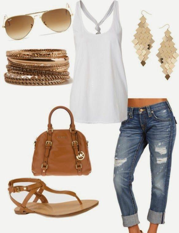 Coco 的美術館: Amazing Jeans Outfit Ideas--牛仔褲搭配好點子