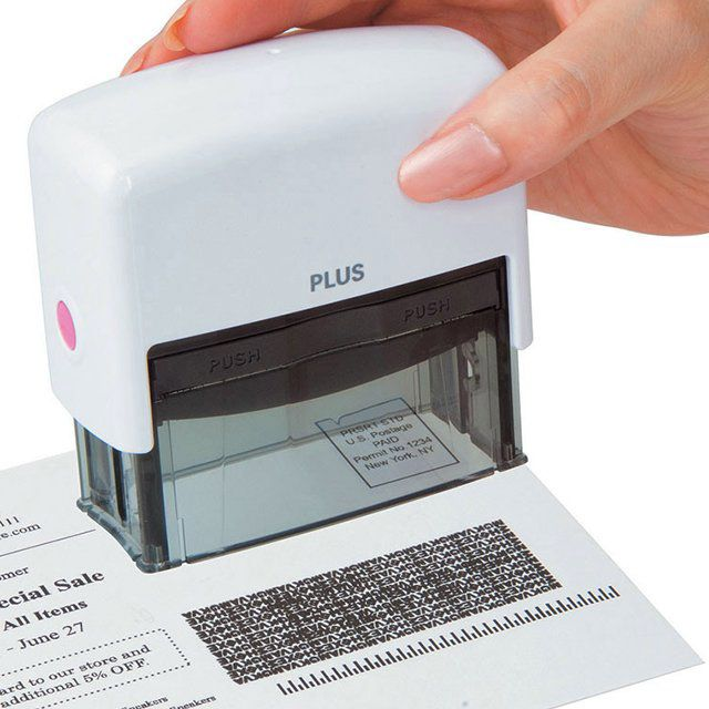 ID Guard Stamp (30+ useful (and cool) office gadgets you must have - Blog of Francesco Mugnai)