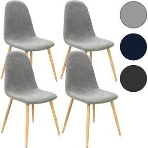 Cette chaise Design possède un siège confortable et un tissu tendance qui donne à vos pièces un atout charme supplémentaire. Les chaises allient simplicité et modernité. Ajoutez une touche tendance chez vous! Idéal pour le salon - séjour - cuisine - salle à manger - bureau   Avantages du produit:  -
