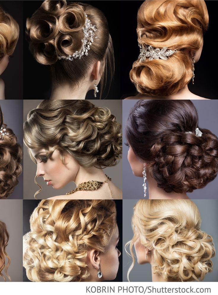 Brautfrisuren für Brunette und Blondinen für russische Hochzeiten