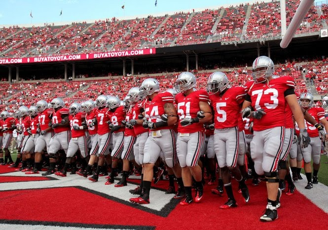 Love Saturday afternoons in the fall!!  O-H-I-O!!!!
