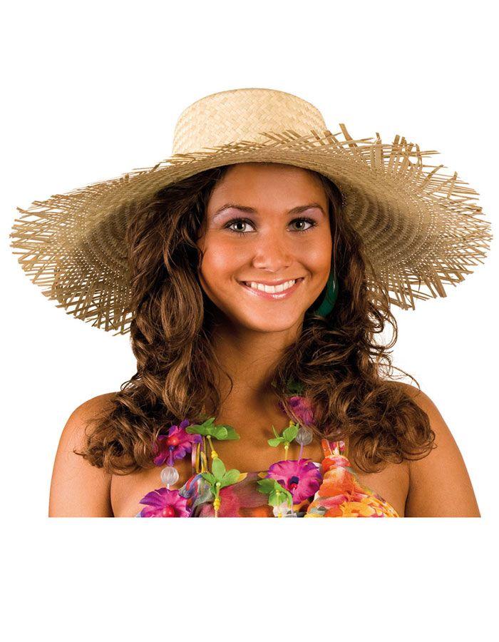 Strooien Hawaïhoed : Vegaoo Hoeden