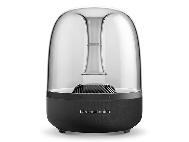 harman/kardon、Bluetooth特化の個性的スピーカーAURA STUDIO発表。スモークカラー採用 - Engadget Japanese