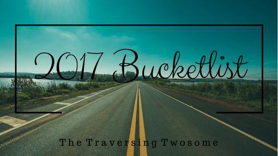 2017 Bucket List