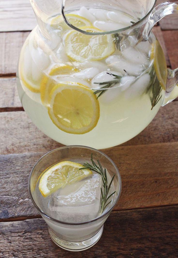 rosemary lemonade (A Beautiful Mess)