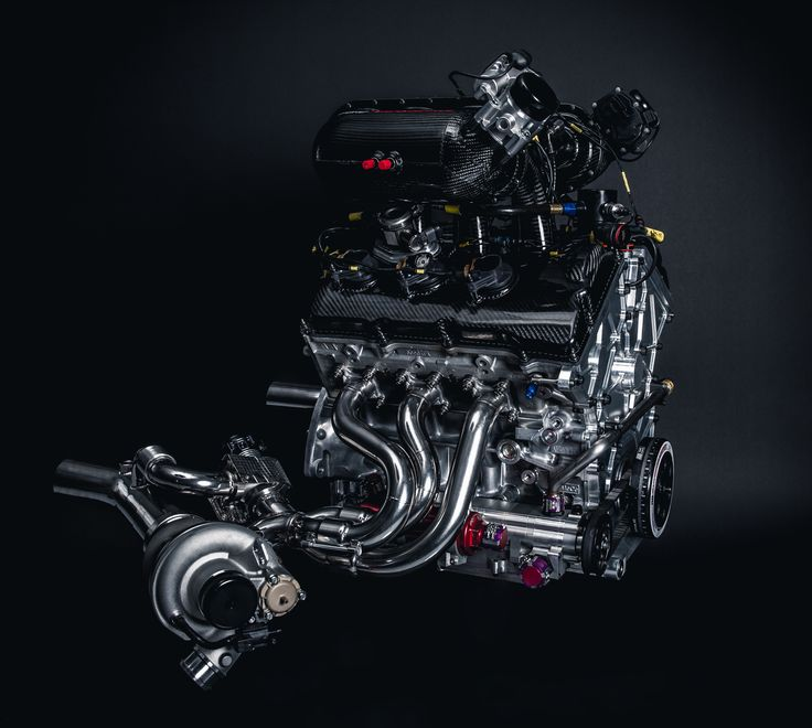 Roush Yates Engines - Ford 3.5l DOHC V-6 EcoBoost race engine (IMSA, FIA) for the Ford GT. Year: 2016.
