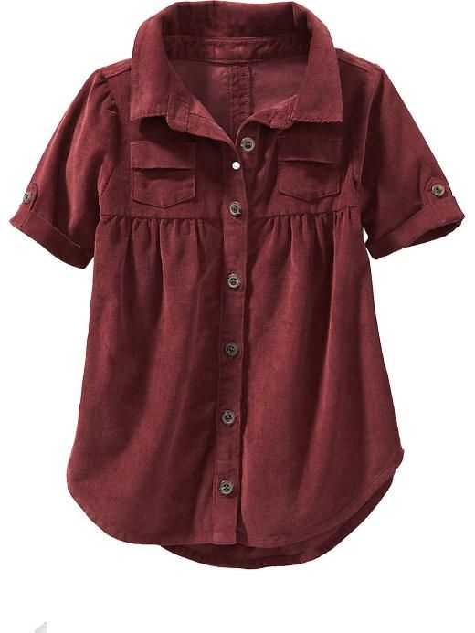Old Navy Cord Shirt Dress for Baby $18.00