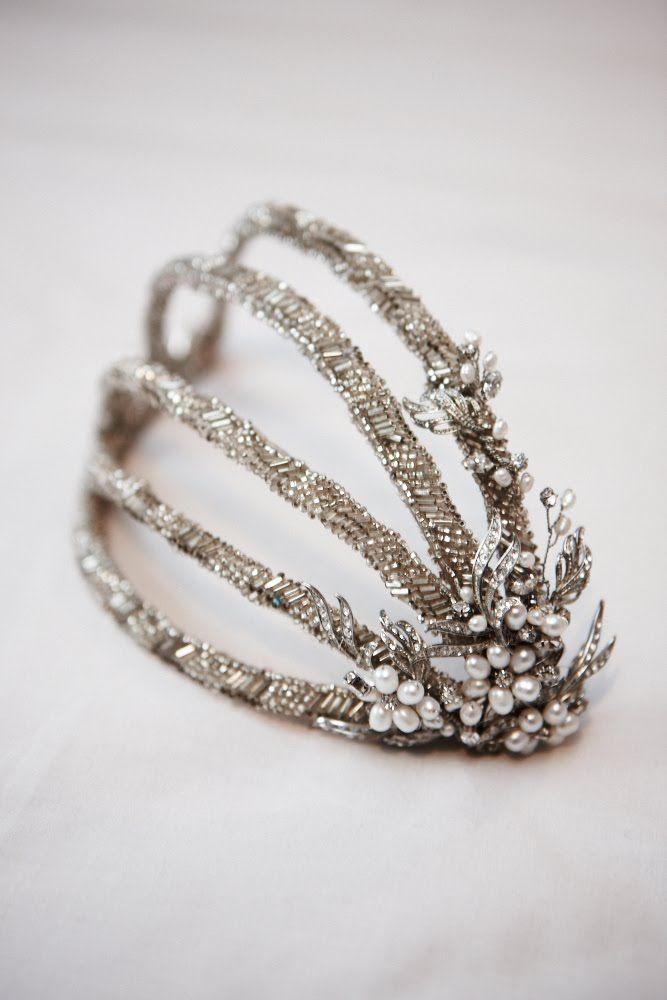 Sandie Bizys: Bridal Headpiece for Elicia
