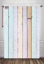 Huayi apenada rosa de madera de piso de madera telón de fondo para la fotografía rústica azul gota de fotos telón de fondo d9916(China (Mainland))