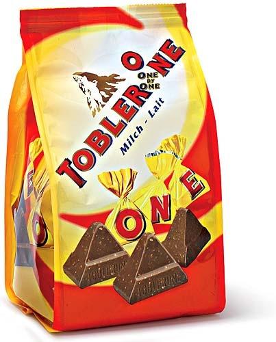 """KRAFT FOODS Toblerone One by One, Switzerland""  Packaging Design by Daniel Wermuth / wermuthgrafik ©2012   http://www.wermuthgrafik.ch"