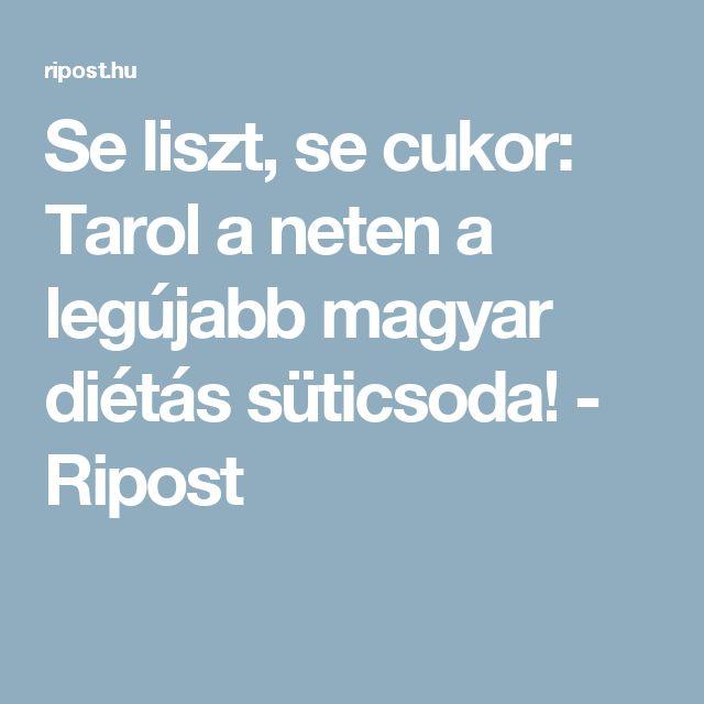 Se liszt, se cukor: Tarol a neten a legújabb magyar diétás süticsoda! - Ripost