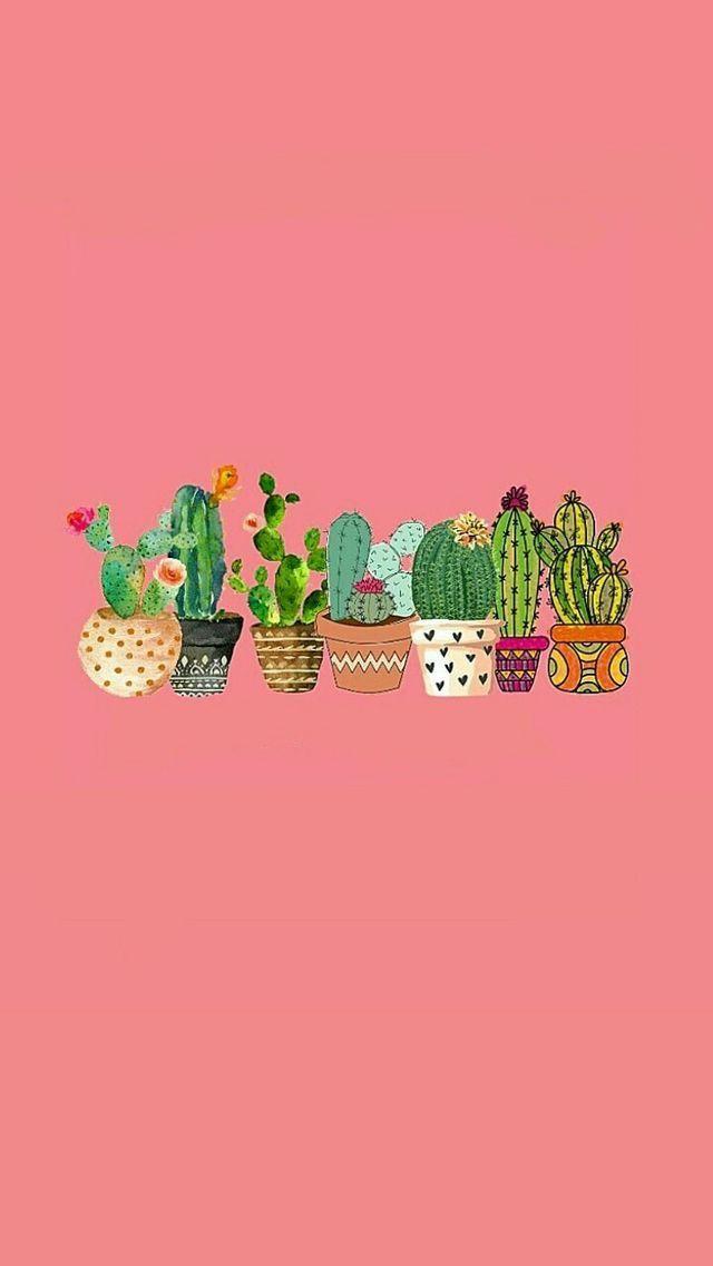 The Cactus Caucus In 2019 Aesthetic Iphone Wallpaper Cute