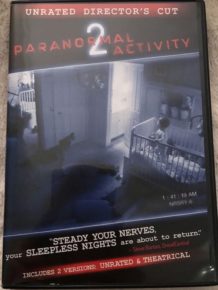 Paranormal Activity 2 DVD 2011 Katie Featherston Molly Ephraim Micah Sloat  | eBay