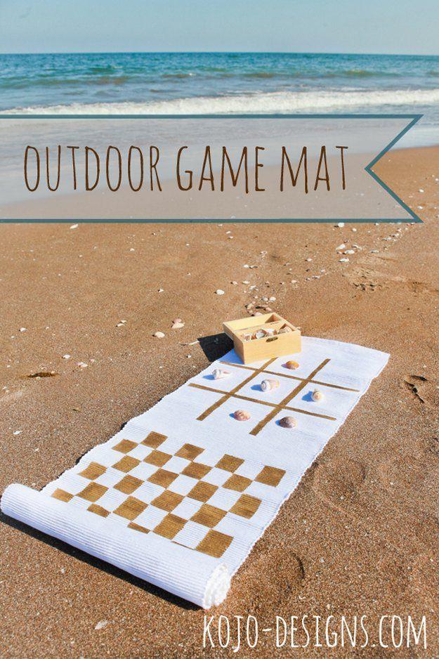 Games diy outdoor game mat by diy ready at http diyready com 15