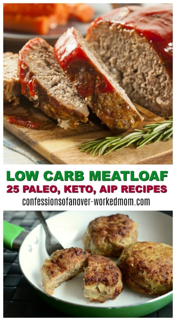 25 Low Carb Meatloaf Recipes To Try Tonight #BestAngusBeef #Steakholder #CertifiedAngusBeef #ad https://confessionsofanover-workedmom.com/low-carb-meatloaf/?utm_campaign=coschedule&utm_source=pinterest&utm_medium=Ellen%20Christian%20-%20Ellen%20Blogs&utm_content=25%20Low%20Carb%20Meatloaf%20Recipes%20To%20Try%20Tonight