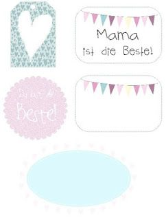 Free  Mother's Day printables ♥