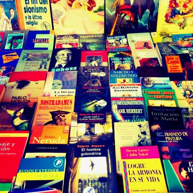 Feria de libro santiago, chile