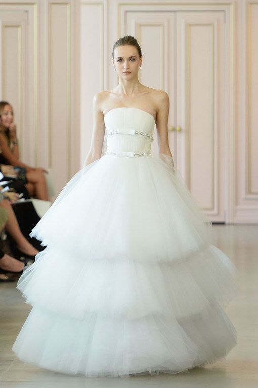 Robe de mariée Oscar de la Renta