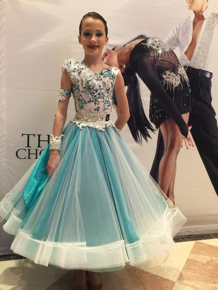 110 best Youth Ballroom & Latin Dresses images on Pinterest ...