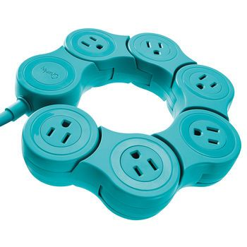 Quirky Pivot Power Flexible Power Strip,  $19.99                                                                                                                                                                                 More