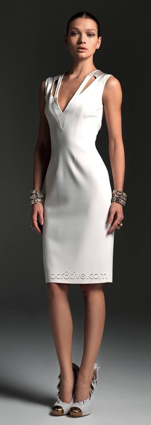 White dress high fashion haute couture pinterest for High fashion couture dresses