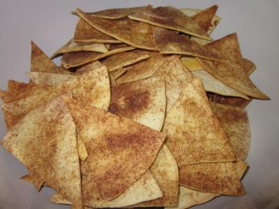 Cinnamon Tortilla Chips from Domestic Diva, MD