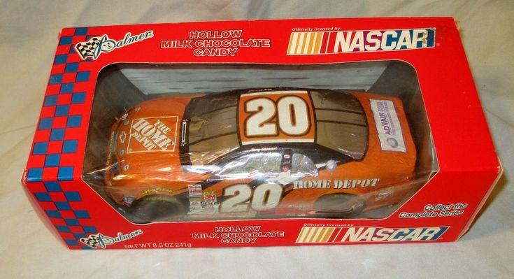 Vintage NASCAR Collectible Tony Stewart 20 Car 2002 Foil Wrap Candy Car 10x5 NEW