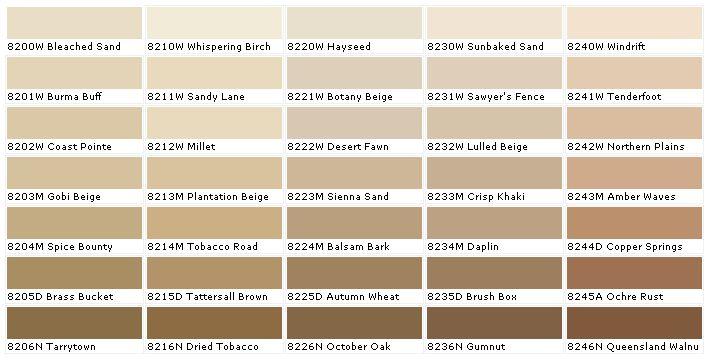 Duron Paints Duron Paint Colors Lulled Beige Tobacco
