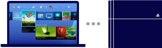 PS4 Remote Play Windows® PC / Mac