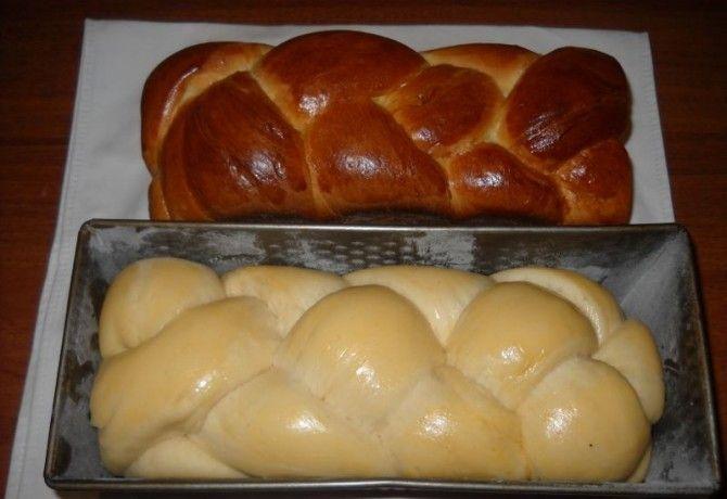 Foszlós kalács húsvéti sonkához recept képpel. Hozzávalók és az elkészítés részletes leírása. A foszlós kalács húsvéti sonkához elkészítési ideje: 70 perc