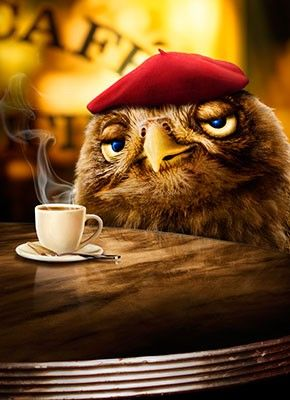 Coffee Makes You Wise! ha