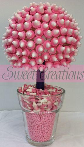 Pink Mushroom Sweet Tree