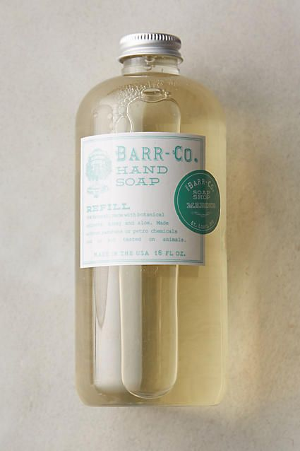 Barr-Co. Hand Soap Refill - anthropologie.com