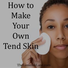 "Tend Skin Recipe? I am skeptical of all ""DIY"" dupe claims, but the comments are glowing. Chemists: Does this work?"