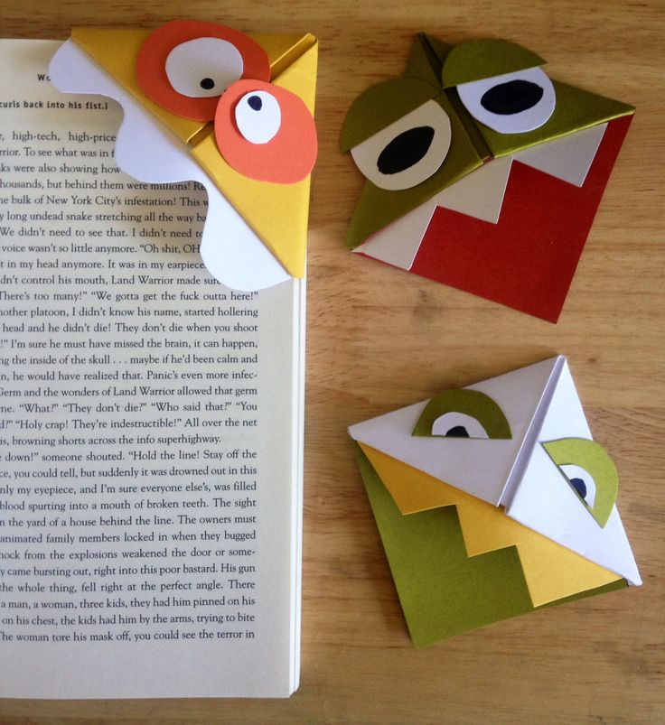 One of my favorite memories about being a kid during the for Cool ways to make bookmarks